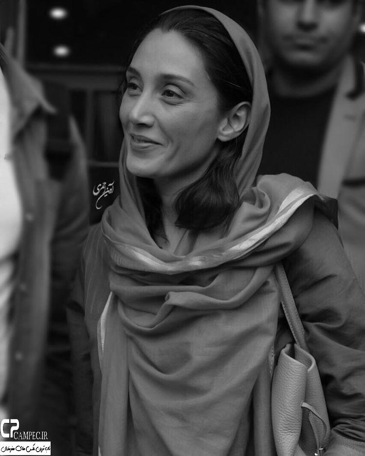 هدیه تهرانی در اکران فیلم پات