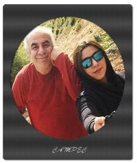 معرفی و عکس مرتضی رستمی با دخترش