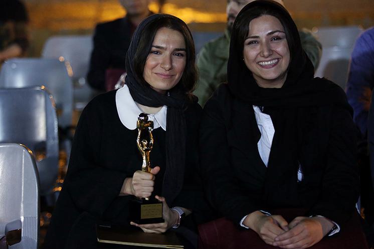 باران کوثری در دومین جشن عکاسان سینما