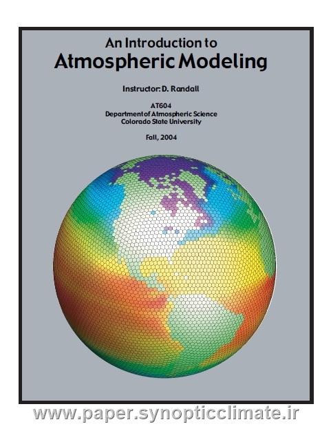 دانلود کتاب مقدمه ای بر مدلسازی جوی دکتر راندال