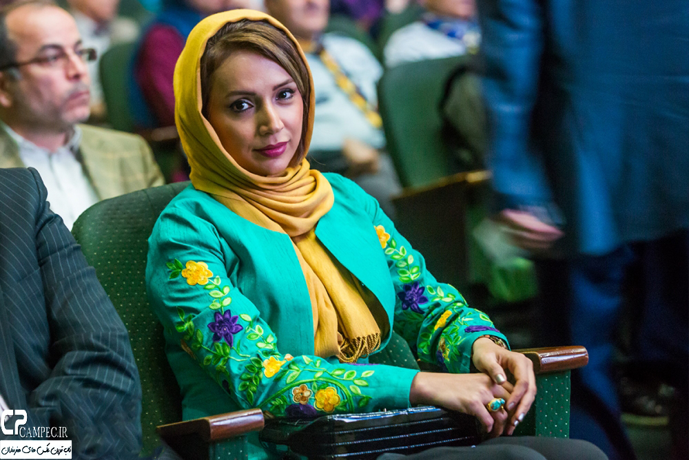 شبنم قلی خانی در افتتاحیه جشنواره فیلم سبز