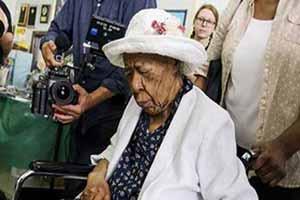 مسنترین فرد جهان درسن 116 سالگی درگذشت , حوادث