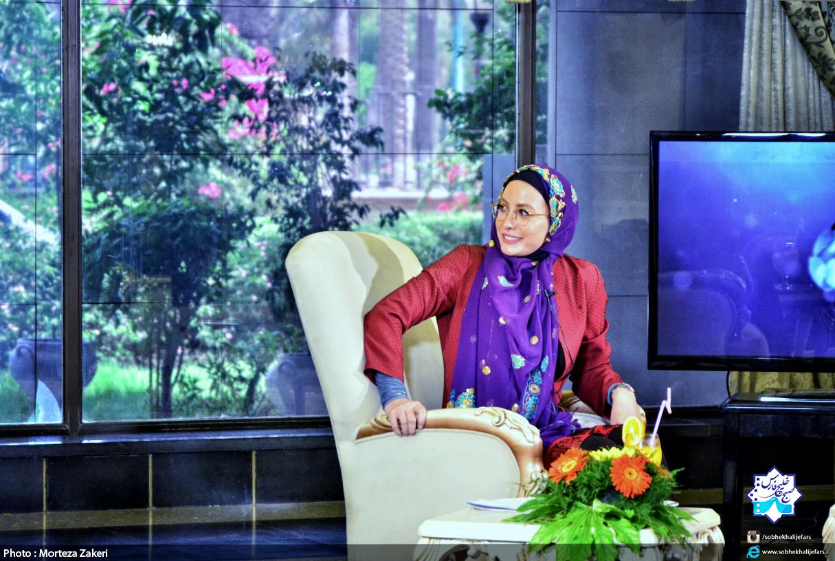 فریبا نادری در برنامه صبح خلیج فارس