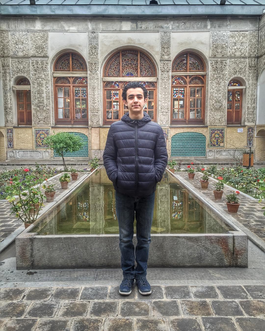 عکس جدید علی شادمان