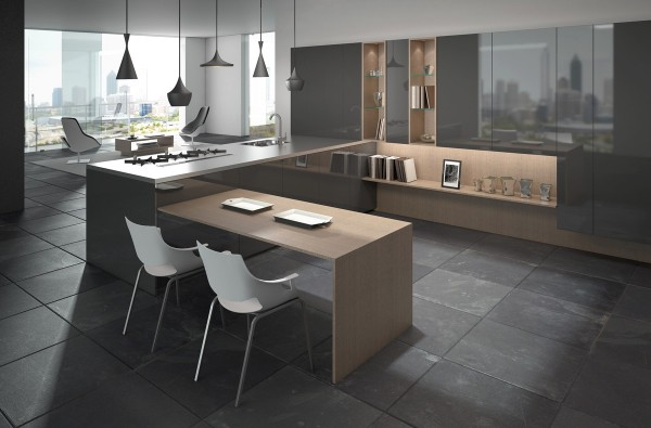 کابینت در آشپزخانه