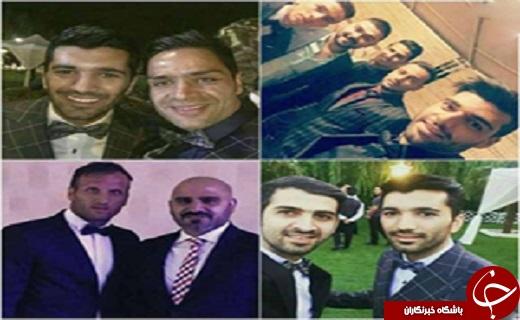 بازیکنان پرسپولیس در مراسم عروسی مسلمان