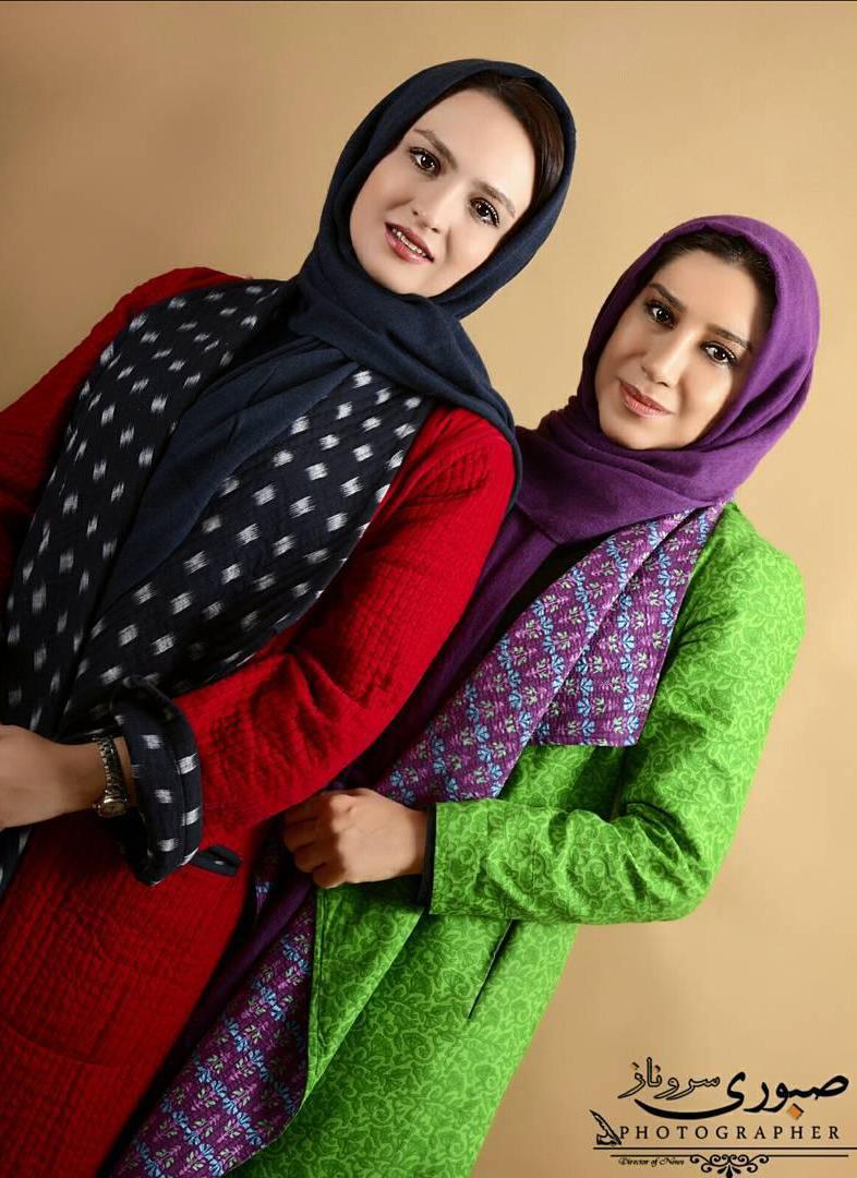 نسیم ادبی و گلاره عباسی