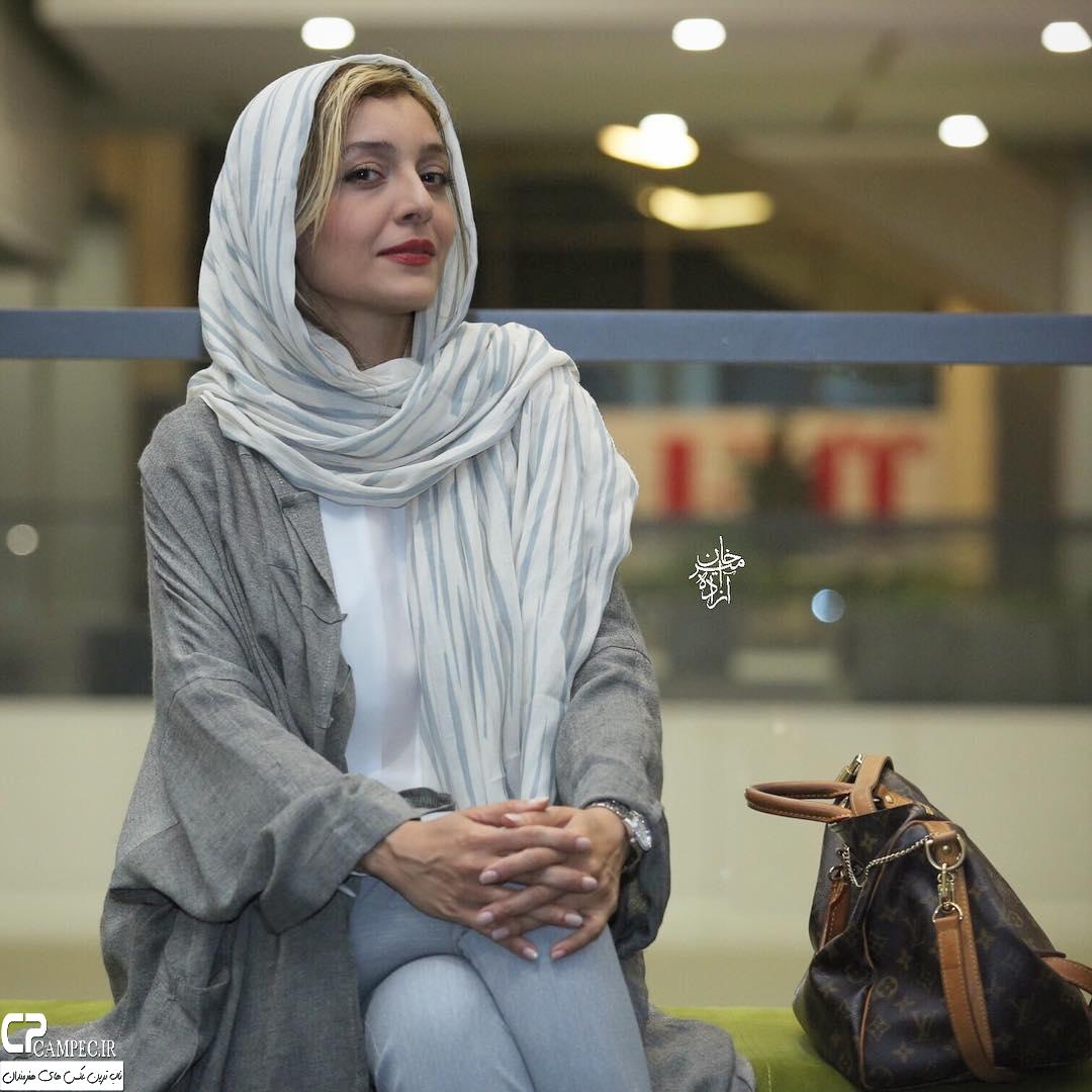 ساره بیات در اکران خصوصی فیلم عادت نمیکنیم