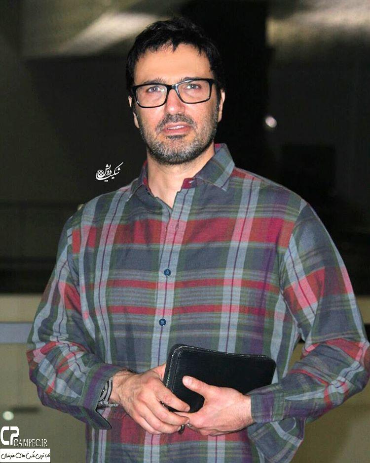 محمد رضا فروتن در اکران فیلم عادت نمیکنیم