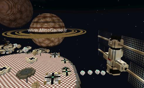 دانلود مپ سیاره و فضا برای PE