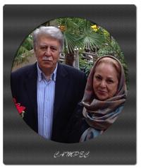 بیوگرافی و عکس بهرام زند با همسرش