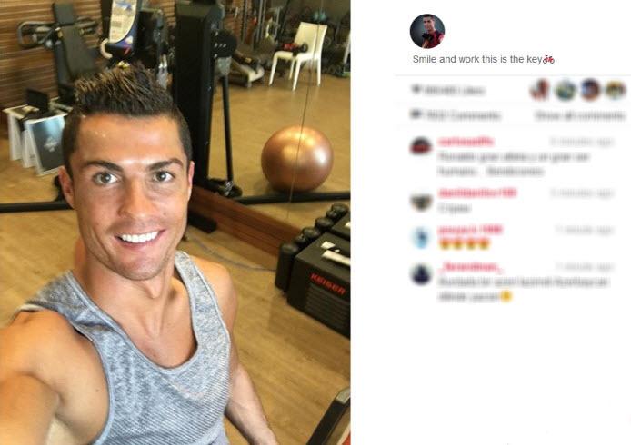 کلید موفقیت رونالدو در فوتبال + عکس , اخبار ورزشی