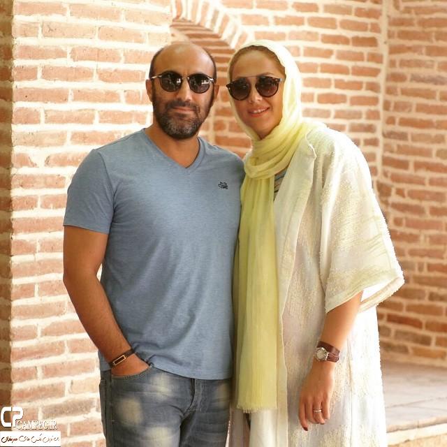 عکس جدید محسن تنابنده با همسرش