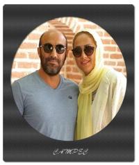 عکسهای شخصی محسن تنابنده با همسرش