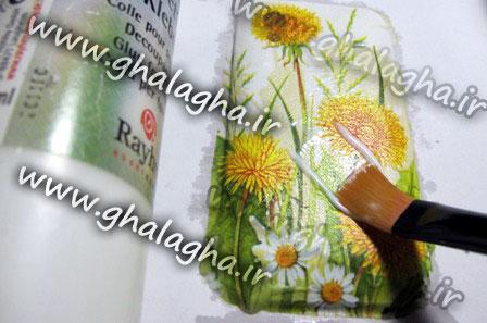 آموزش تصویری دکوپاژ