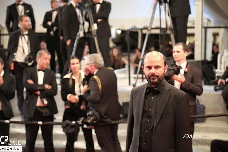 فرش قرمز فیلم فروشنده در جشنواره کن