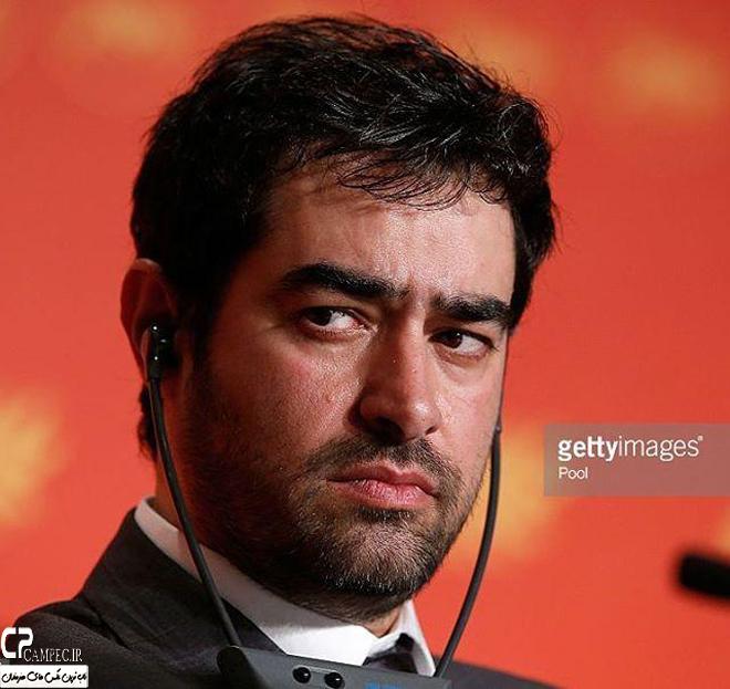 شهاب حسینی در نشست خبری فیلم فروشنده در جشنواره کن