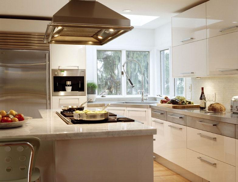 کابینت رمگ استخوانی در آشپزخانه