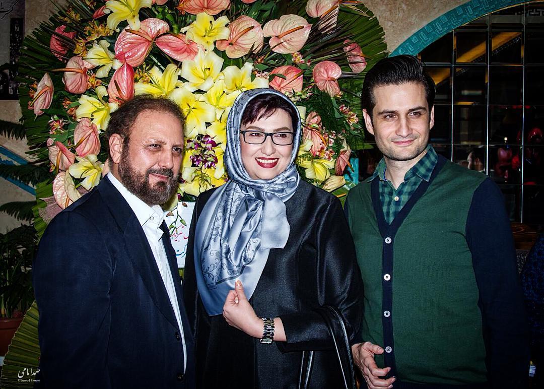 معصومه کریمی با پویا امینی و جلیل فرجاد
