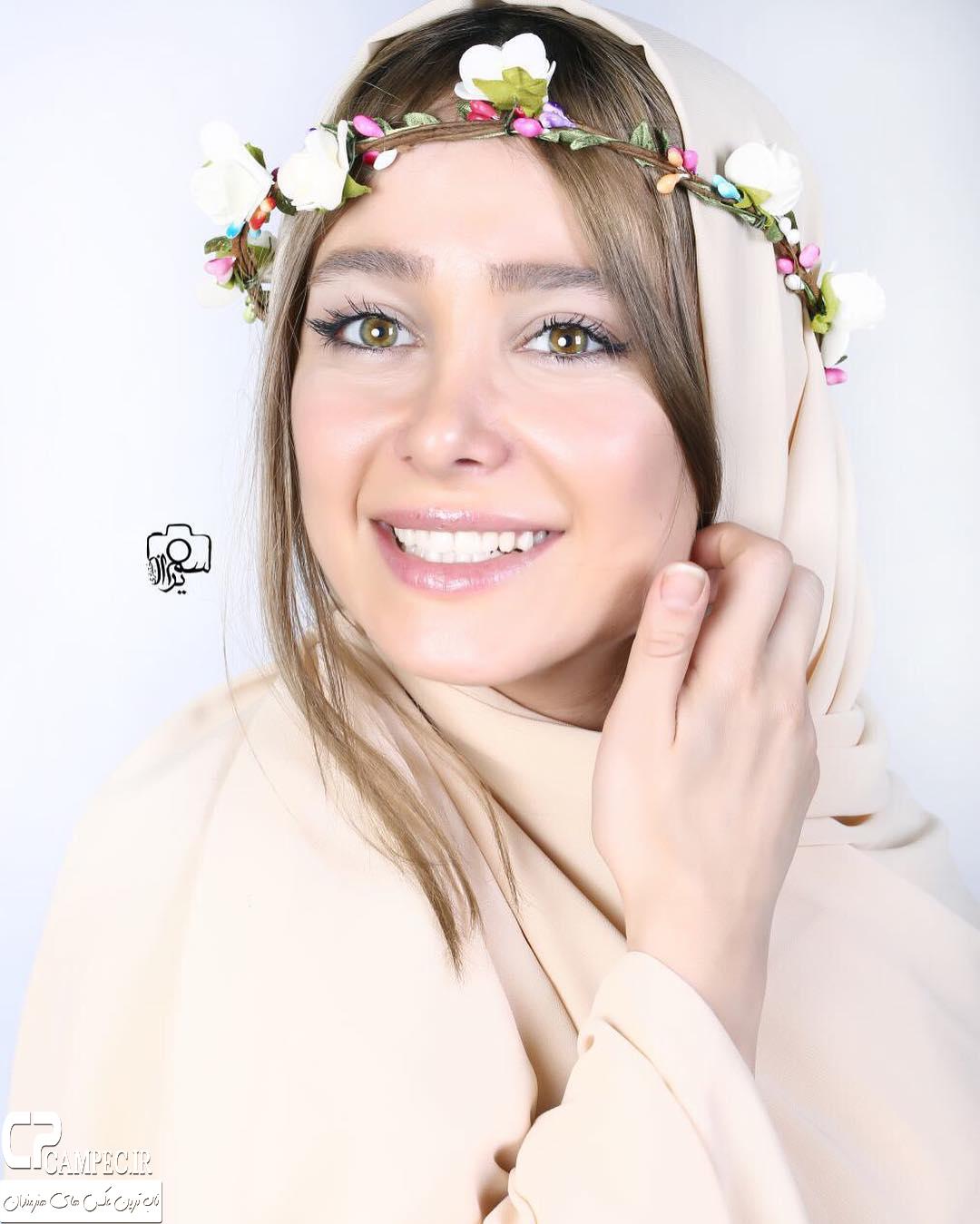عکس زیبای الناز حبیبی در سال 95
