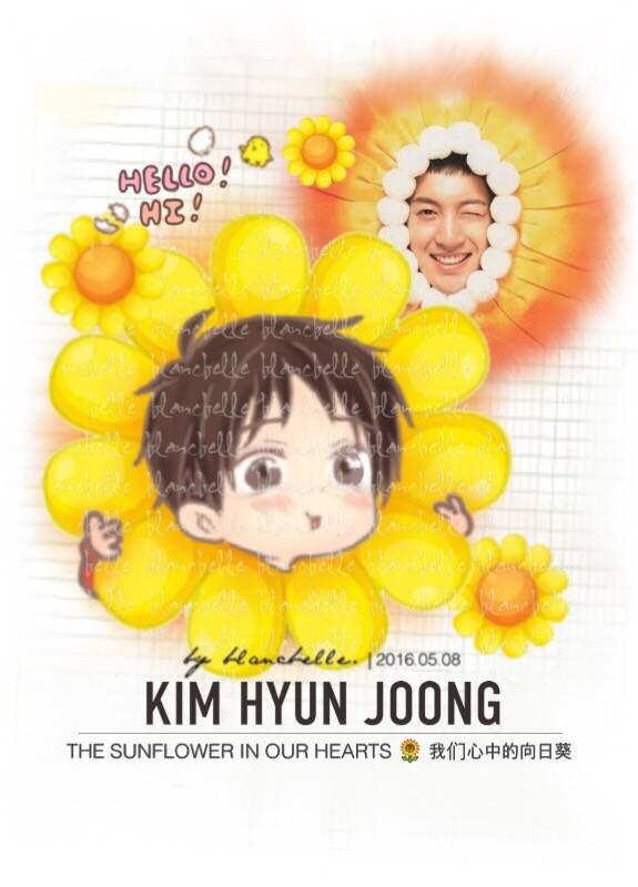 [blancbelle Fanart] Kim Hyun Joong - The sunflower in our hearts [2016.05.08]