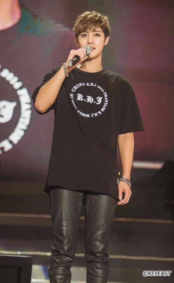 [Photo] Kim Hyun Joong Japan Mobile Site Update [2016.05.13]