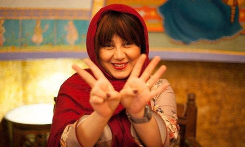 کری خوانی بهنوش بختیاری با تیپ جدید , چهره های ایرانی