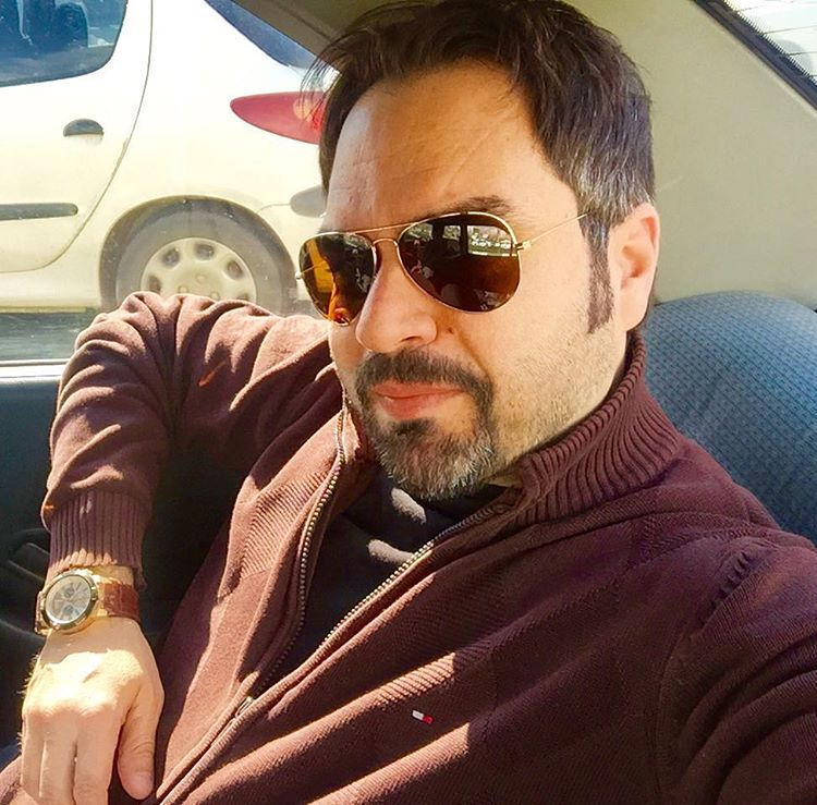 عکس شخصی شهرام قائدی