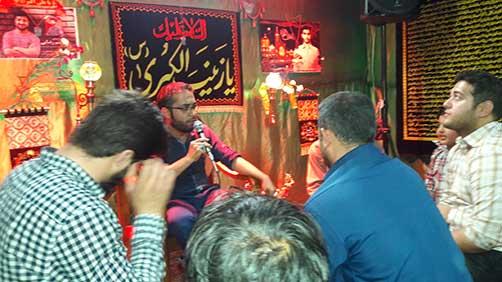 جشن میلاد زمان(عج) هیئت فاطمیون در محل حسینیه شهید محمد علی ت آبادی – یاد و خاطره