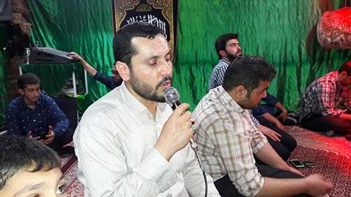جشن میلاد زمان(عج) هیئت فاطمیون در محل حسینیه شهید محمد علی ت آبادی