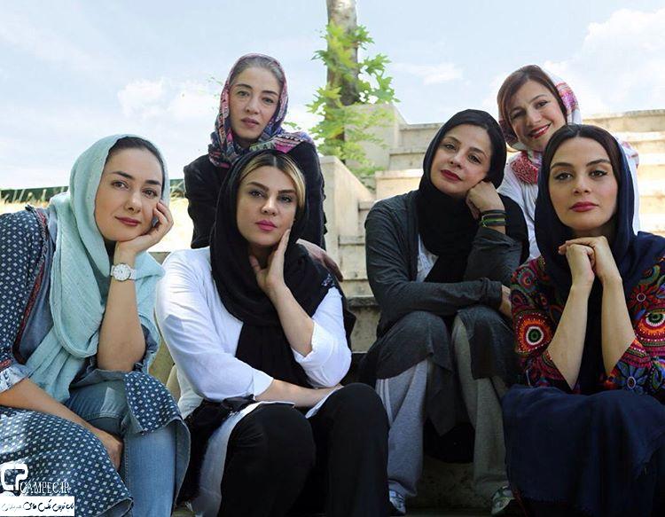 تیم اسکواش هنرمندان زن ایران