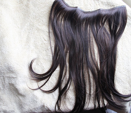 اکستنشن مخفی مو