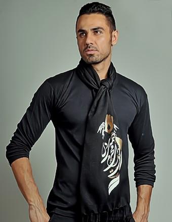شال گردن پارچه ای شیک مردانه