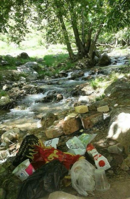 زباله های غیر قابل بازیافت