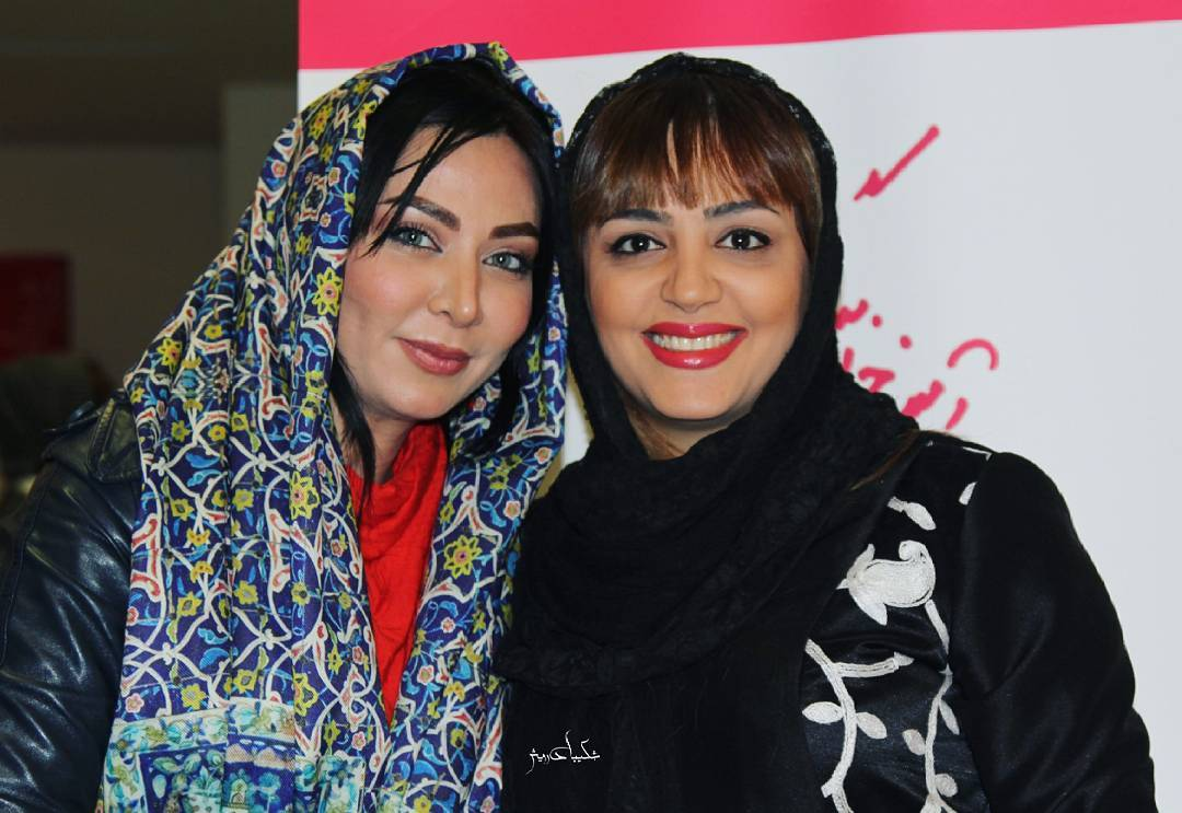 عکس شخصی فقیهه سلطانی با لیلا برخورداری