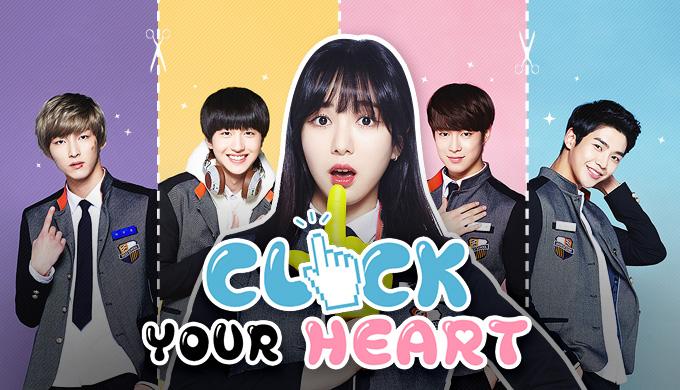 مینی سریال کره ای روی قلبت کلیک کن2016 click your heart