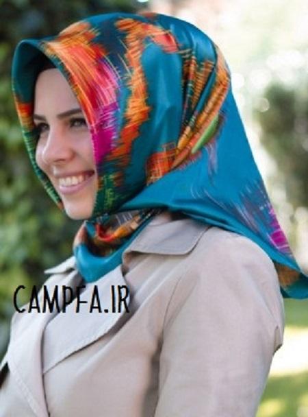 روسری زنانه مدرن