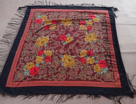 روسری ترکمن مشکی