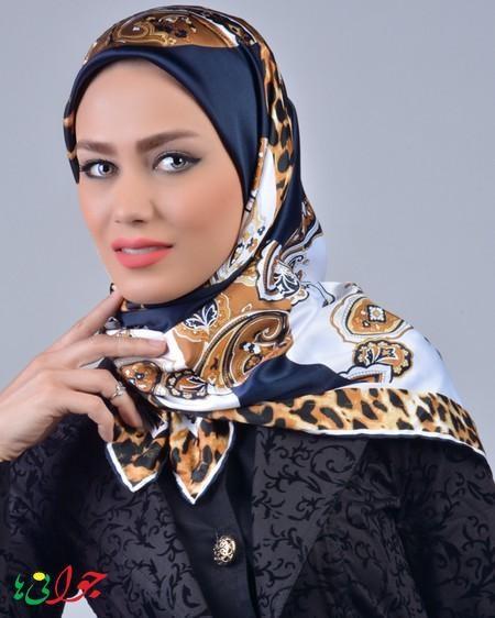 روسری زنانه ابریشمی