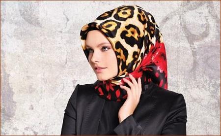روسری ابریشمی زنانه زیبا