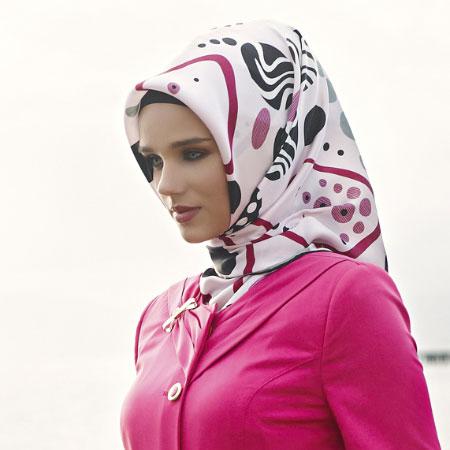 جدید ترین روسری مارکدار
