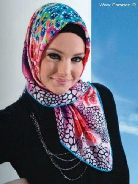شال و روسری با مدل جدید روز