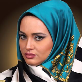 شال و روسری کنزو آبی زنانه