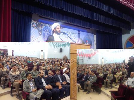 سخنرانی امام جمعه قهدریجان در جمع کارکنان شرکت سیمان سپاهان