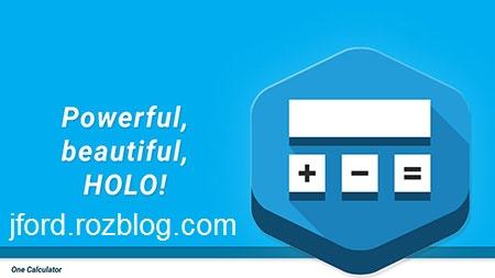 One Calculator Full 3.0.14 دانلود نرم افزار ماشین حساب علمی برای اندروید