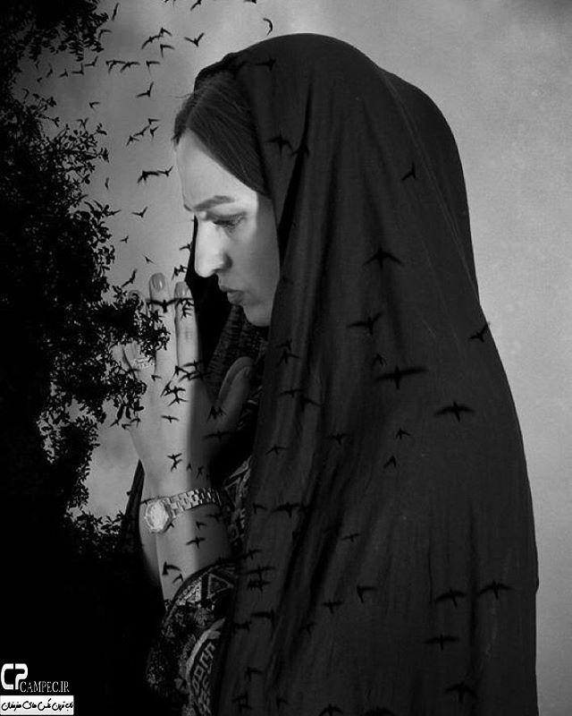 عکس آتلیه ای گلاره عباسی