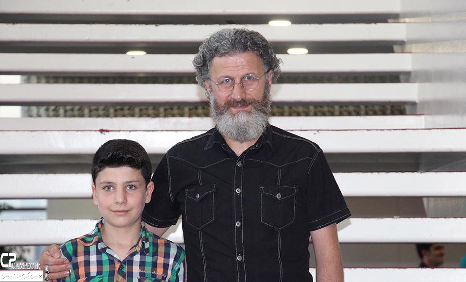 بهرام عظیمی و پسرش