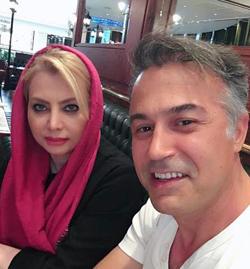 بیوگرافی و عکسهای دانیال حکیمی با همسرش
