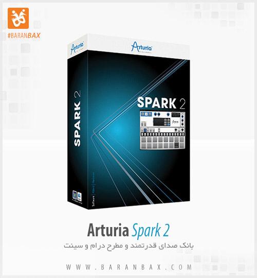 دانلود وی اس تی بانک صدا درام و سینت Arturia Spark 2