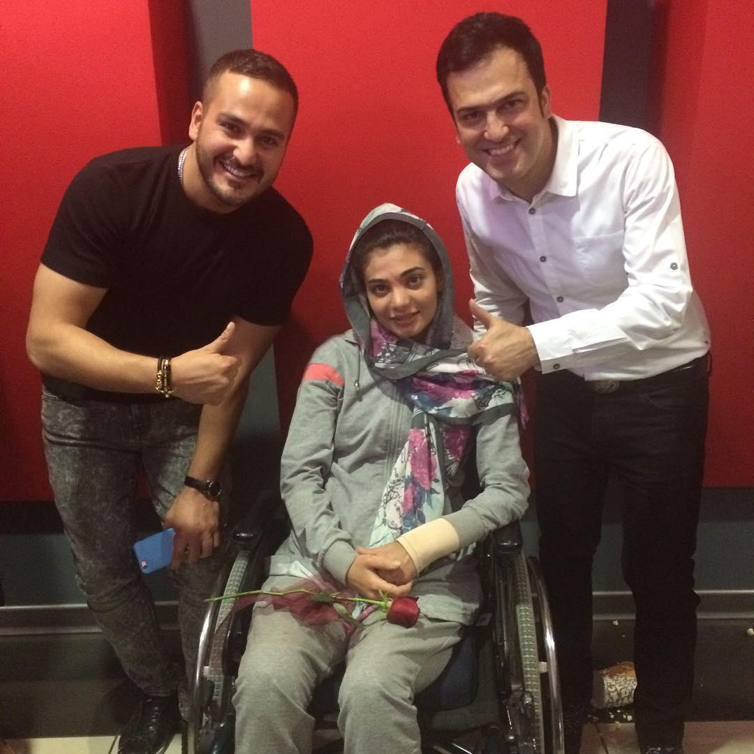 سارا عبدالملکی با حامد آهنگی و میلاد کی مرام